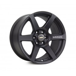 Simmons 17x9.0 S6 Matte Black
