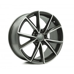 Style For AU 18x8.0 Style5477 Polished Grey