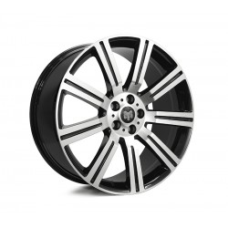 Style For RR 22x10 Stormer Black Machine Face