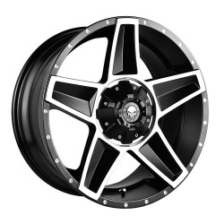 Hussla 17x9.0 Defenda Machine Face