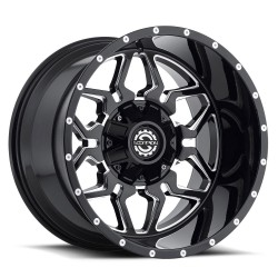 Scorpion 20x12 SC16 Gloss Black Milled