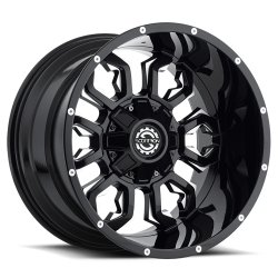 Scorpion 20x12 SC17 Gloss Black Milled