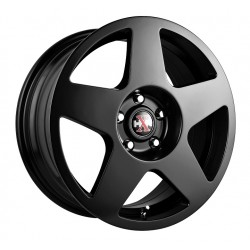 Hussla 17x7.5 659 Rally Matte Black