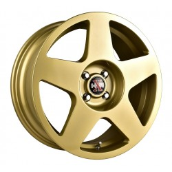 Hussla 17x7.5 659 Rally Gold