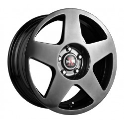 Hussla 17x7.5 659 Rally Chromium