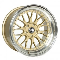 Hussla 18x8.5 021 Gold Machine Lip