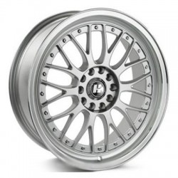 Hussla 17x7.0 021 Silver Machine Lip