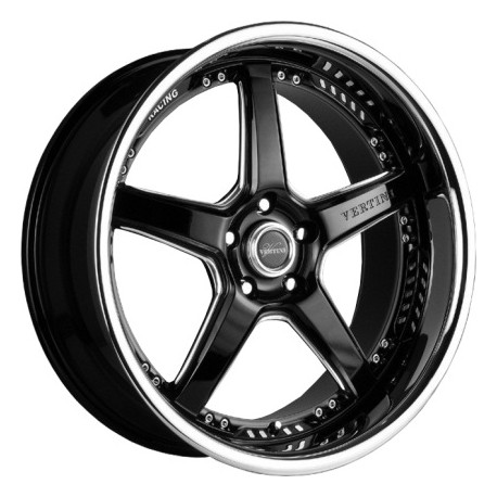 Vertini 20x8.5 Drift Gloss Black Chrome Lip