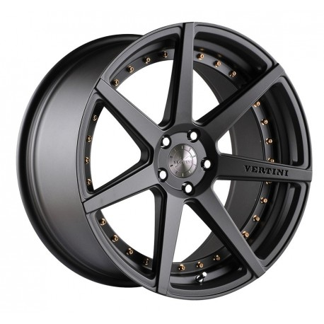 Vertini 22x9.0 Dynasty Matte Black