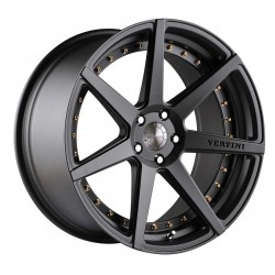 Vertini 22x10.5 Dynasty Matte Black
