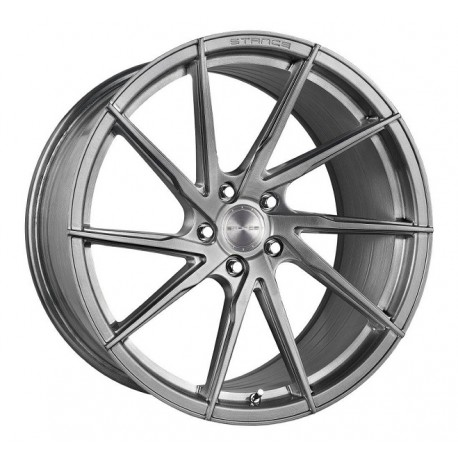 Stance 20x11 SF01 Brushed Titanium