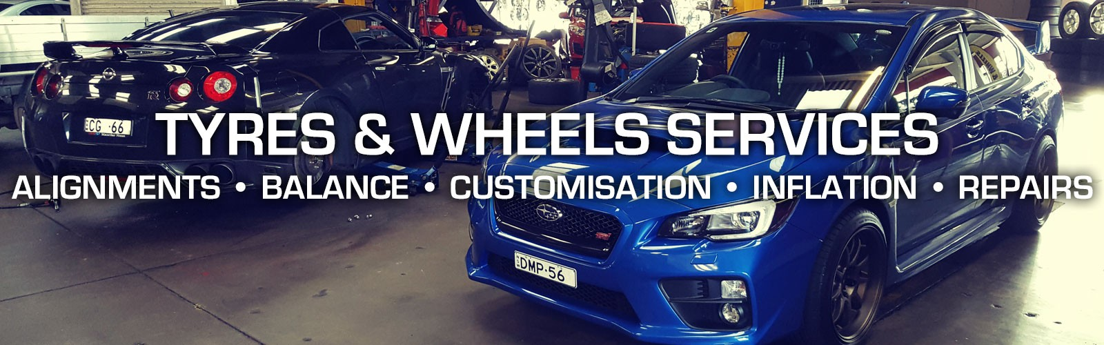 Tyres & Wheels Services